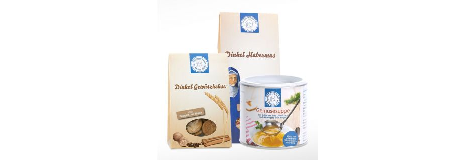 Hildegard von Bingen Küche - Suppen, Nudeln und Aufstriche