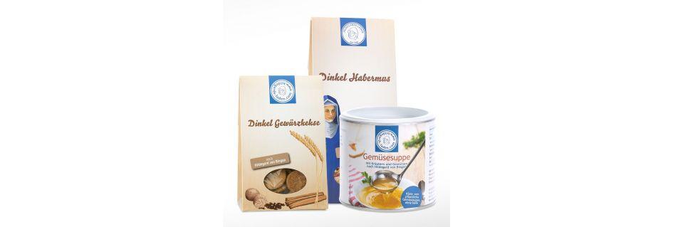 Hildegard von Bingen Lebensmittel - Suppen, Kekse, Habermus