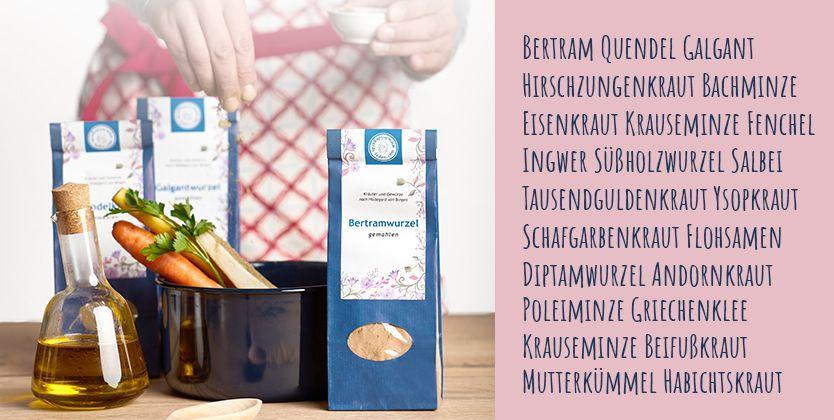 Hildegard von Bingen Kräuter & Gewürze
